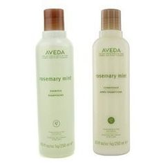 Aveda Rosemary Mint Shampoo & Conditioner Duo! For in the shower- easing for both male and female guests!