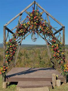 Wedding Flowers, Arch, Outdoor Structures, Garden, Floral, Longbow, Garten, Lawn And Garden, Flowers