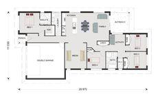 Home Designs in Fraser Coast/Bundaberg Family Bed, Double Garage, House Floor Plans, Home Builders, Houses, House Design, Australia, Flooring, How To Plan