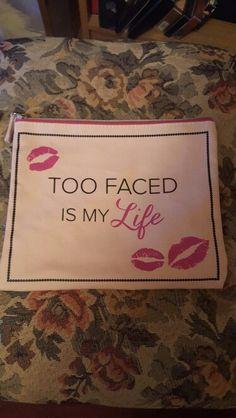 Too faced makeup bag. New