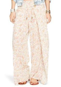 Denim  Supply Ralph Lauren  Wide-Leg Floral Pant