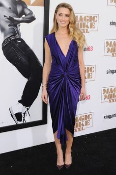 Amber Heard in Monique Lhuillier // Check out the best dressed celebrities of the week.