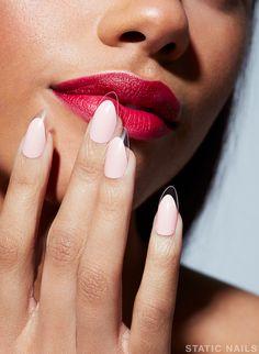Get a non-damaging, hand painted reusable manicure for a fraction of Ne… – Long Nails – Long Nail Art Designs French Nails, Stiletto Shaped Nails, Subtle Nails, Natural Looking Nails, Gel Nail Extensions, Long Nail Art, Nails First, Summer Acrylic Nails, Round Nails