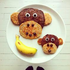 Instagram Breakfast - No More MOnkey Business by idafrosk
