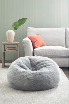 Perfect for flopping onto after a long day, our oh-so-soft faux fur bean bag is the perfect way to make any space feel that little bit cosier. Made in the UK. Sponge clean only. Small Bean Bags, Small Bean Bag Chairs, Bean Bags For Kids, Giant Bean Bags, Cool Bean Bags, Small Room Bedroom, Room Ideas Bedroom, Bedroom Decor, Diy Crafts