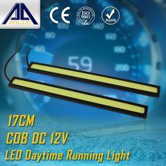 $1.90 (Buy here: https://alitems.com/g/1e8d114494ebda23ff8b16525dc3e8/?i=5&ulp=https%3A%2F%2Fwww.aliexpress.com%2Fitem%2FFree-shipping-bran-new-Super-Bright-COB-LED-Daytime-Running-Light-Car-Lights-DRL-Lamp-Lights%2F2021267516.html ) 2pcs 17cm LED car DRL COB Daytime Running light 100% Waterproof led Car Driving light fog parking lamp Warning Light Source for just $1.90