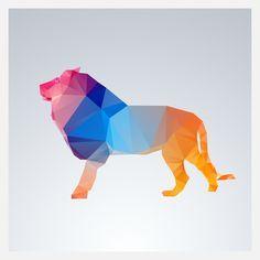 origami lion drawing - Google zoeken