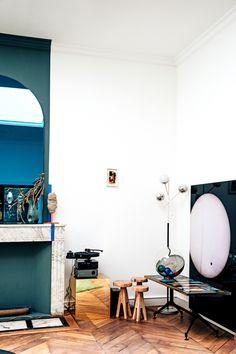 The Nordroom — Home in Paris Wood Interiors, Paris Photos, Interior Inspiration, Design, Decoration, Quelque Chose, Nooks, Hallways, Closets