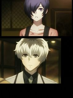 """""""We meet again"""" is the song when these two reunite Still Crying. Marvel Video Games, Touka Kaneki, Tokyo Ghoul Quotes, Dark Fantasy, My Little Baby, We Meet Again, Dark Anime, Mystery, 3 In One"""