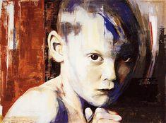 """Goran"" by Thomas Thüring, People: Portraits, Society, Painting Art Work, Contemporary Art, Portrait, Friends, Artist, Free, Painting, Inspiration, Artwork"