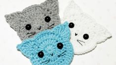 Mesmerizing Crochet an Amigurumi Rabbit Ideas. Lovely Crochet an Amigurumi Rabbit Ideas. Appliques Au Crochet, Crochet Motif, Crochet Flowers, Crochet Stitch, Chat Crochet, Crochet Amigurumi, Crochet Toys, Crochet Gifts, Diy Crochet