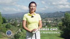 Golf with Aimee  Aimee s Golf Lesson 010  Staying in Balance     Our Golf Professional Aimee Cho shows you how to stay in balance through  out the golf swing