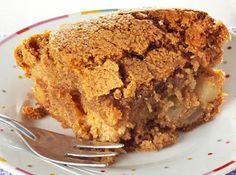 Torta de Maçã Crocante - Veja a Receita: