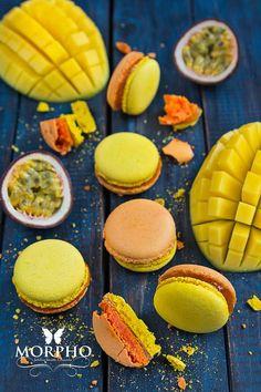 Macarons Mango-Passion Fruit @MORPHO Fabulous Desserts & Macarons!