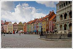 The Old Market Square - Poznan, Wielkopolskie