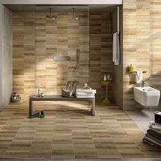 Image result for wood effect bathroom  wall tiles