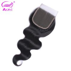 Ariel Body Wave Closure Natural Color 22 20 Inch Closure Free Middle Part 4*4 Lace Closure Indian Remy Hair Human Hair Closure  Price: 18.99 & FREE Shipping  #fashion #sport #tech #lifestyle Human Hair Lace Wigs, Human Hair Wigs, Sew In Hair Extensions, Cheap Human Hair, Middle Parts, Hair Weft, Short Pixie, Indian Hairstyles, Free Hair