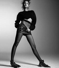 Imaan Hammam for WSJ Magazine April 2016: Spring Fashion's New Attitude Photographer: Daniel Jackson Fashion Editor: Géraldine Saglio