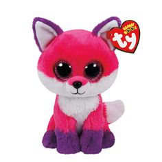 Peluche petite taille Joey le renard TY Beanie Boos