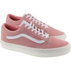 47f42d941e73 Vans Trainers Womens Old Skool Blossom True White (1 795 UAH) ❤ liked on