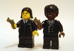 HA! John Travolta & Samuel L. Jackson in Pulp Fiction historic Legos