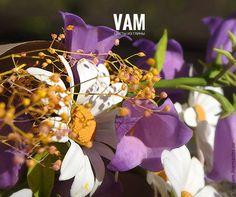 """Купить """"Здравствуй,лето!"""" - комбинированный, белый, фиолетовый, зеленый, желтый, флористическая композиция, интерьерная композиция"""