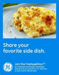 Favorite side dish  #GEFreshIL