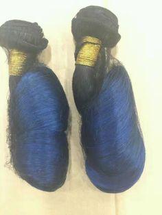#1B/Blue Spring Curl#MSbeauty Hair