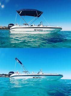 Embarcación de recre Rio 500 Class con Toldo Bimini Carvid Marine 4 Arcos Aluminio. Disponible en nuestra web: www.carvidmarine.com Boat, Arches, Budget, Dinghy, Boats, Ship