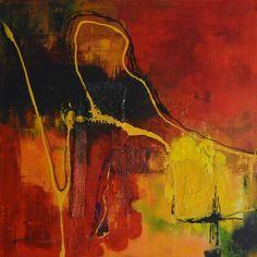 No.14 Kleurige moderne abstracte schilderijen, acrylverf op doek zonder lijst. Prijzen varieren tussen de 50 en  195 euro. Voor meer informatie neem contact op met schilderijen.Fenny@gmail.com