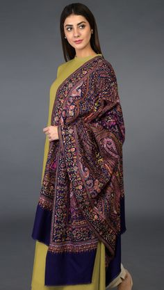 Indian Designer Outfits, Indian Outfits, Sabyasachi Sarees, Kashmir India, Pashmina Shawl, Indian Couture, Eid Mubarak, Shawls And Wraps, Indian Wear