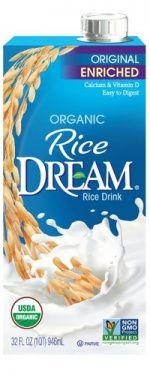 Hain Celestial refreshes Dream #packaging Yogurt Packaging, Rice Packaging, Beverage Packaging, Vanilla Rice, Lactose Free Milk, Benefits Of Organic Food, Milk Alternatives, Organic Recipes, Packaging Design