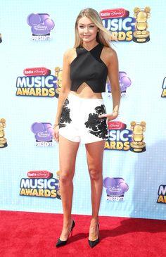 At the Radio Disney Music Awards in Los Angeles   - ELLE.com
