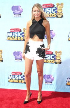 At the Radio Disney Music Awards in Los Angeles   - ELLE.com