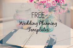 Glitter your Dash: Free Wedding Planning Documents