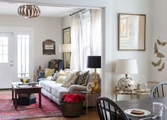 A home flush with personal treasures