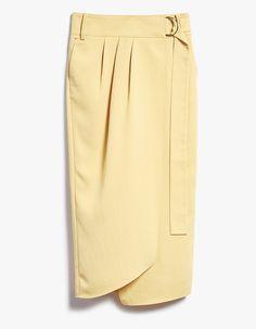 Tibi / Wrap Skirt in Blond