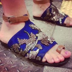 Stylelist's Photographer Shares This Week's Outtakes: Sandals - J.Crew designer from my building!