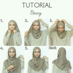 Tutorial for hijabers