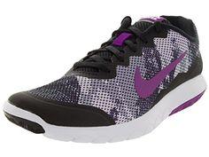 c64c3c12f8e Nike Womens Flex Experience Rn 4 Prem BlackVivid PurpleWhite Running Shoe  85 Women US