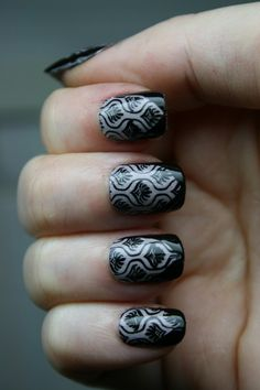 Love this, surprisingly though since I hate about 90% of the stuff on this site, I'm biased though... i don't like glitter nail polish, obscenely long nails, or 3d nail art...