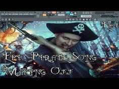 Hey guys,  Today I want to show you my #pirate #song #demo I`ve been working on in #FLStudio since the start of the summer I think,it still needs a lot of work cause it must #sound a little #epic,so this kind of #tracks take a lot of time but I`m almost there!