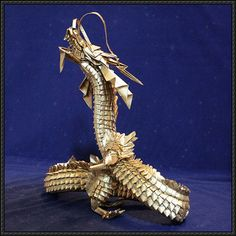 Amazing Chinese Dragon Origami Free Turorial Download - http://www.papercraftsquare.com/amazing-chinese-dragon-origami-free-turorial-download.html