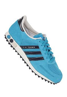 ADIDAS Womens LA Trainer turquoise/legend ink s10/bliss s13 planetsports
