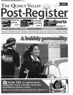 Quincy Valley Post-Register (Quincy, Washington) newspaper archive - http://qvp.stparchive.com/