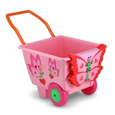 Melissa  Doug Sunny Patch Bella Butterfly Cart  Pretend Play Toy for Kids >>> Check this awesome product by going to the link at the image.Note:It is affiliate link to Amazon.