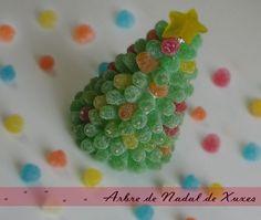 arbol de navidad de chuches