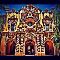 Balboa Park in San Diego, CA. Photo and edit by Jon Savage http://instacanv.as/savagephoto