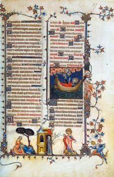 Bréviaire de Belleville by Jean Pucelle, 1323-1326