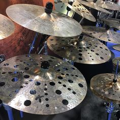 @zildjiancompany K Custom Special Dry is back and expanded with Trash crashes FX hi-hats and thinner crashes and rides. #namm2017 #cymbals
